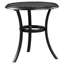 round patio accent table brown signature design by ashley target