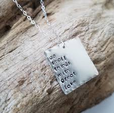great necklace do small things with great square necklace carruthers