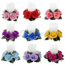 flower candle rings online get cheap wedding floral centerpiece aliexpress
