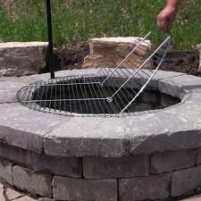 Firepit Grate Pit Grate For Cooking Pit Ideas