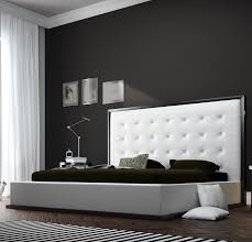 Wenge Bedroom Furniture Ludlow King Bed In Wenge White Leather Bedroom Furniture