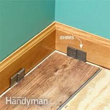 how to install luxury vinyl plank flooring family handyman
