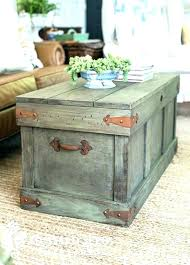 Chest Coffee Table Storage Chest Trunk Storage Chest Coffee Table Chest As Coffee