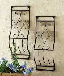 compact wood and metal gate wall decor wrought metal garden gate