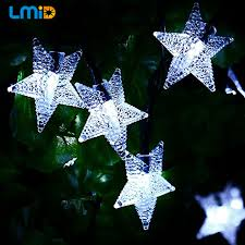 Outdoor Christmas Decorations Solar Lighting by Online Get Cheap Outdoor Christmas Star Aliexpress Com Alibaba