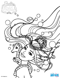mermaid lumina coloring pages hellokids com