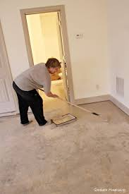 painting a floor how to paint a concrete floor southern hospitality