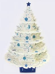 pop up tree shimmering white christmas tree pop up christmas greeting card
