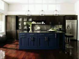 Best Dark Blue Kitchen Images On Pinterest Kitchen Blue - Blue kitchen cabinets