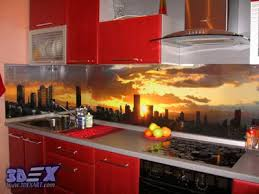 Glass Backsplash In Kitchen 3d Backsplash Panel The Best Solution For Kitchen