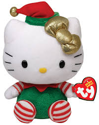beanie babies online price guide amazon com ty beanie babies hello kitty green christmas