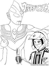 coloring page ultraman kids drawing and coloring pages marisa