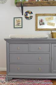 Changing Table Or Dresser Update To A Nursery Dresser And Changing Table Refresh Living