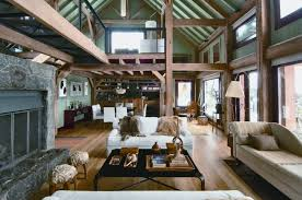 a frame home interiors with a paint this timber frame home feels fresh