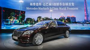 maybach 2014 mercedes benz at auto guangzhou and the 2014 la auto show world