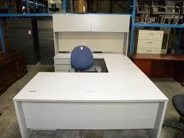 Used U Shaped Desk Desks Credenzas