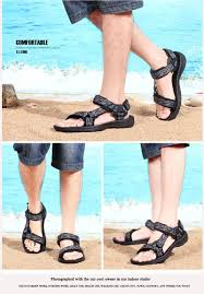 men sandals summer beach shoes comfortable rubber sandals mens