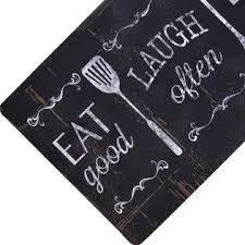 18 In X 30 In Home Dynamix Designer Chef Eat Laugh Live 18 In X 30 In Anti