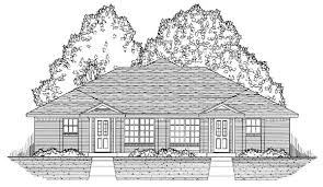 duplex plan chp 51647 at coolhouseplans com duplex plans
