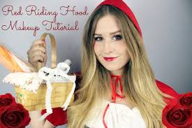Little Red Riding Hood Makeup For Halloween by