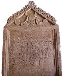 grave tombstone the history archive tombstone of bodicacia found