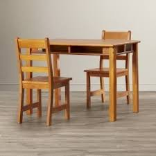 Kids Wooden Table And Chairs Set Childrens Wooden Table And Chairs Visualizeus