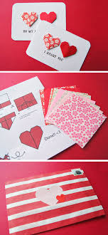 diy valentine s gifts for friends 25 diy valentine s day cards 2017