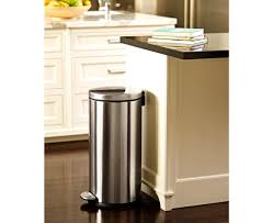 Large Kitchen Trash Can With Lid by Kitchen Surprising Kitchen Trash Cans Waste Baskets Gallon Can