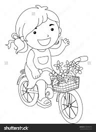 coloring pages bicycle royalty free rf clipart dirt bike coloring