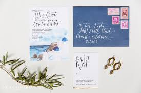 wedding invitations san diego santorini wedding invitations destination wedding