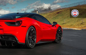 ferrari 488 gtb dub magazine ferrari 488 gtb with hre wheels