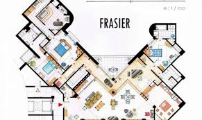 Famous House Floor Plans Awesome 15 Images Two And A Half Men House Floor Plan Home Plans