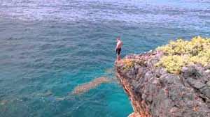 Sea Cliff Cottages Dominica by Daniel U0027s El Cabito Cliff Jump Youtube