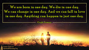 We Are In Love by We Are Born In One Day We Die In One Day We Can Change In One