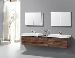 bathroom sleek modern bathroom floating vanity with glass vessel