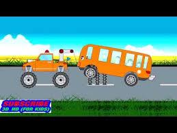 film kartun anak sekolah film kartun mobil mainan anak mobil bus sekolah youtube