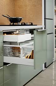 range ustensiles cuisine kallarp panneau latéral de finition brillant vert clair 62x80 cm