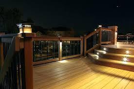 solar powered deck post lights post lights led outdoor l post lights led outdoor l post