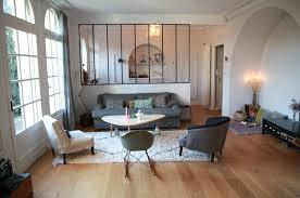 verriere entre cuisine et salle à manger la déco du salon verrière d atelier objets chinés entrez
