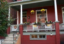 fall front porch home stories a to z