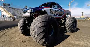 monster trucks watch jay leno drive a monster truck