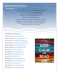 bead society of the palm beaches the rickie report