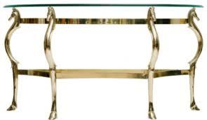 Italian Console Table Italian Brass Seahorse Console Table Moxie