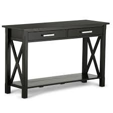 discount furniture kitchener simpli home kitchener walnut storage console table 3axcrgl003