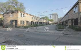 Row Houses Cabrini Green Rowhouses In Chicago Stock Footage Video 92628902