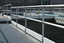 Temporary Handrail Systems Safety Railing Systems Fall Protection Guardrail And Barriers