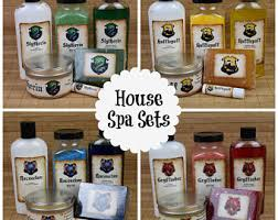 Harry Potter Bathroom Accessories Escentually Geeky Bath And Body Products By Cherrypitcrafts