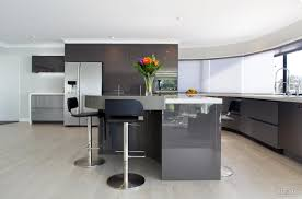new custom designed kitchen by mastercraft kitchens with metallic