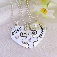 engraved necklaces for engraved best friends forever necklaces for 3 personalized