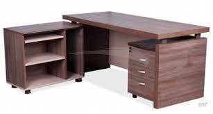 caisson mobile bureau président en bois retour caisson mobile 3 tiroirs à clés